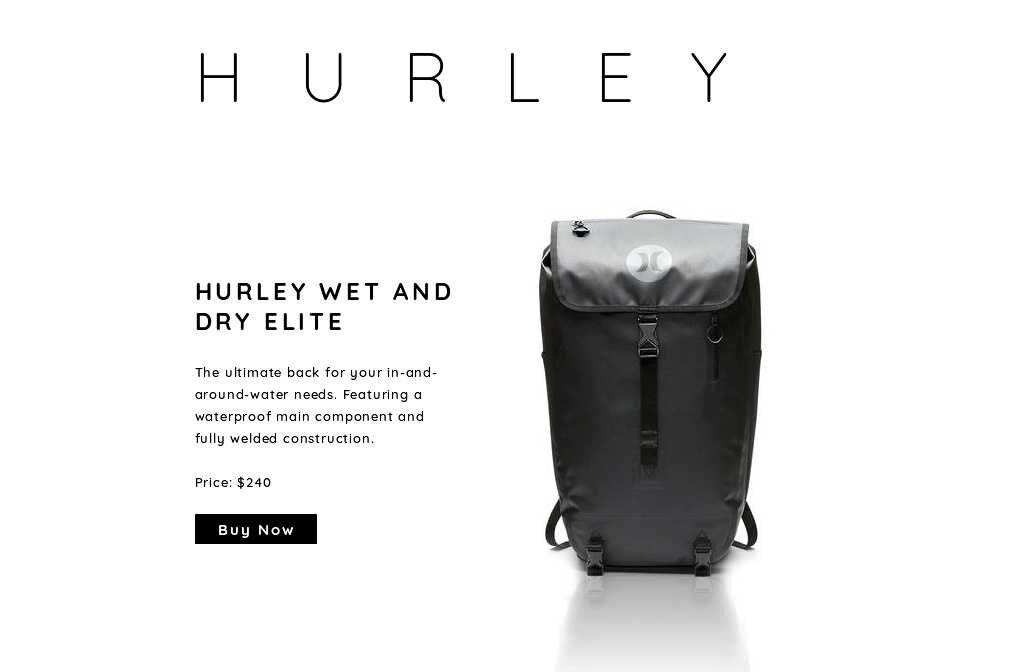 hurley elite surf