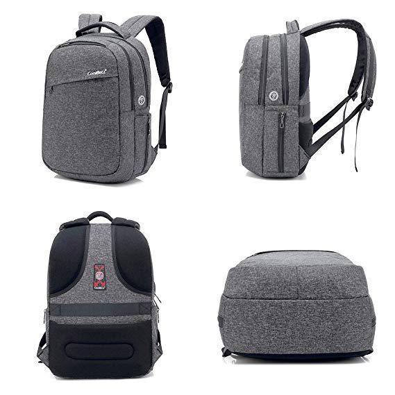 mochila antirrobo HXSS COOL bell nuevo modelo gris