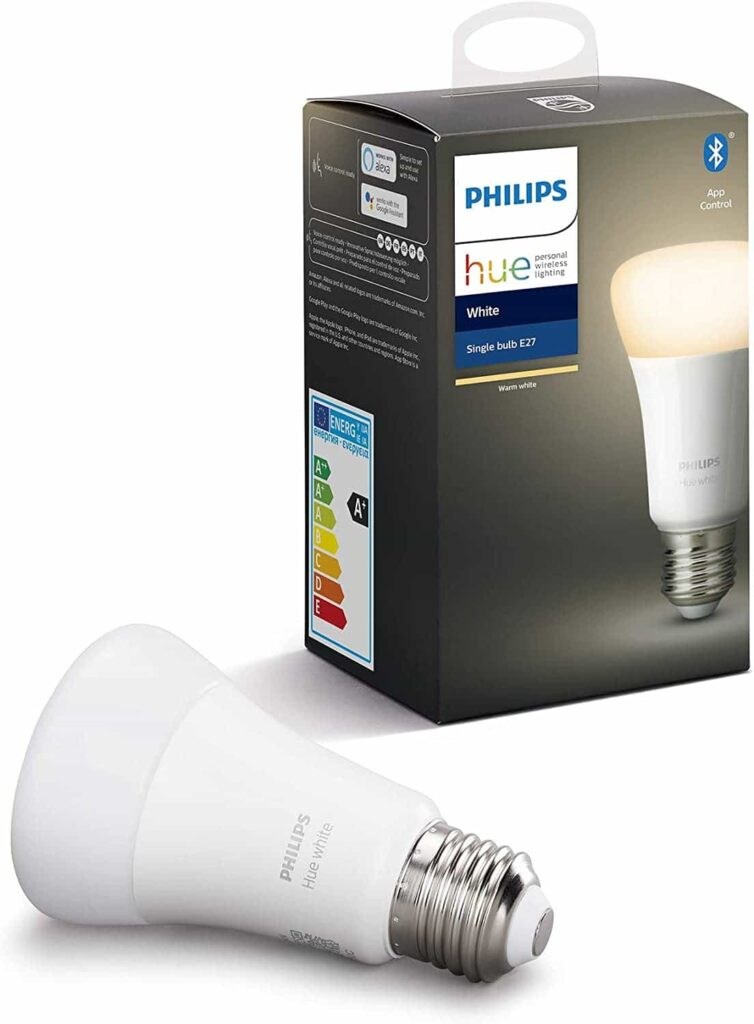 bombilla inteligente LED bluetooth philips hue
