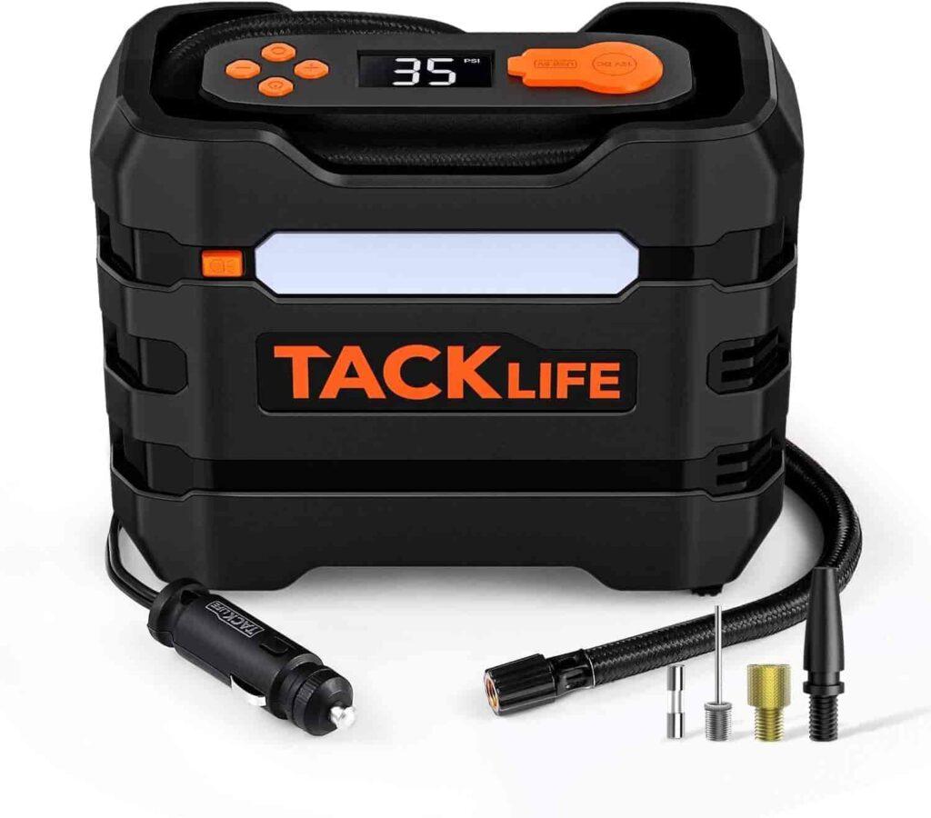 compresor de aire portatil TackLife