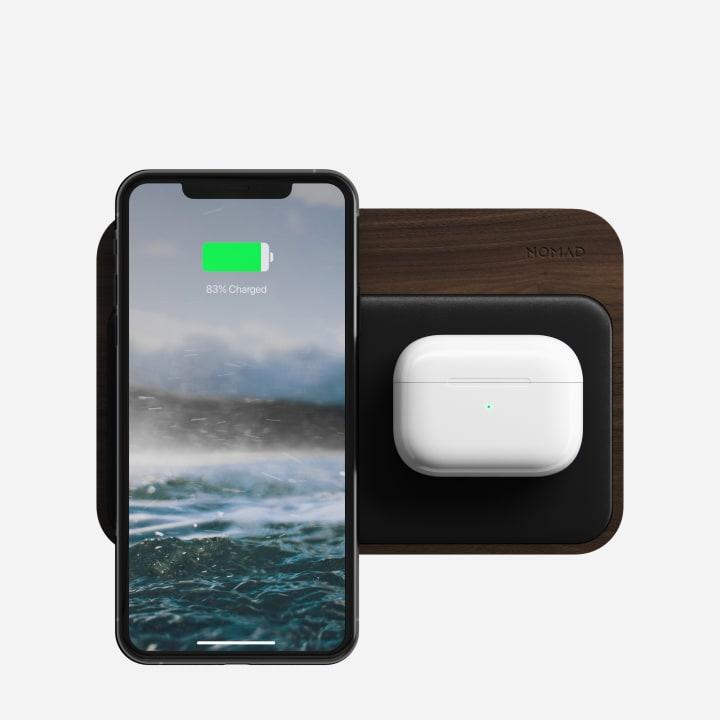 estacion carga inalambrica iphone nomad