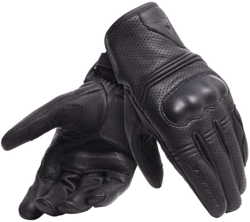 Guantes moto cafe racer – DAINESE CORBIN AIR BLACK –